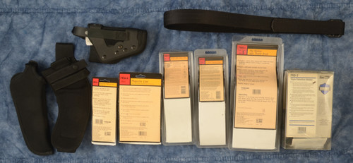 HOLSTERS LOT OF 10 - C33218