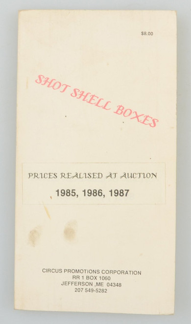SHOT SHELL BOXES