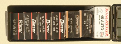 AMMUNITION LOT OF 7 50 RND BOXES 45 ACP - C48943