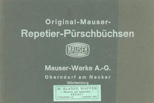 ORIGINAL-MAUSER-REPETIER-PURSCHBUCHSEN - M1431