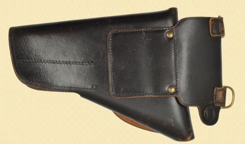 DAVIS 550 BLACK LEATHER HOLSTER - C33439