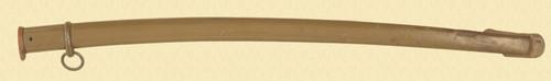 JAPANESE SWORD SCABBARD - C32570