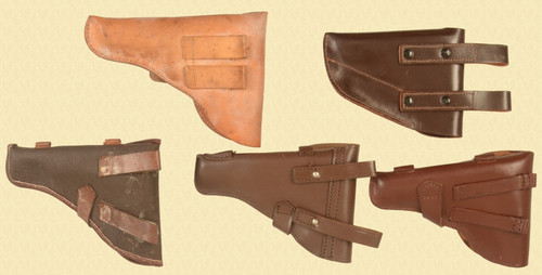 HOLSTERS LOT OF FIVE - C33486