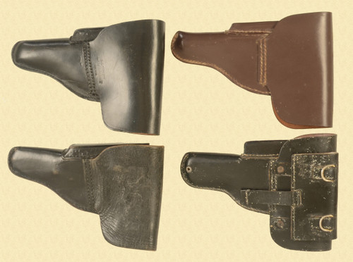 HOLSTERS LOT OF FOUR - C33487
