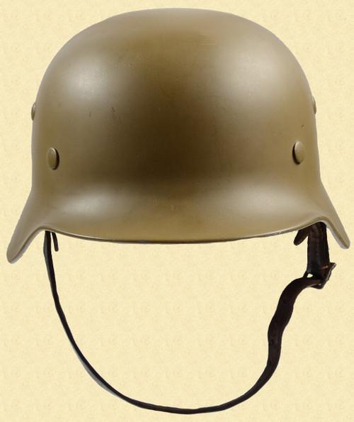 GERMAN WW2 M35 HELMET - M6391