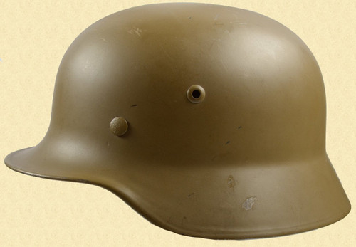 GERMAN WW2 M35 HELMET - M6391
