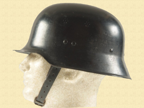GERMAN WW2 FIRE POLICE HELMET - C10890