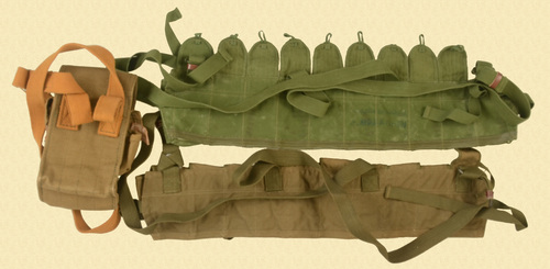 AMMUNITION RUSSIAN & CHINESE POUCHES - C33505