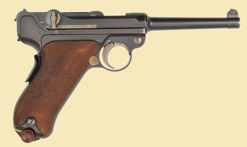 DWM 1900 AMERICAN EAGLE LUGER - D32307