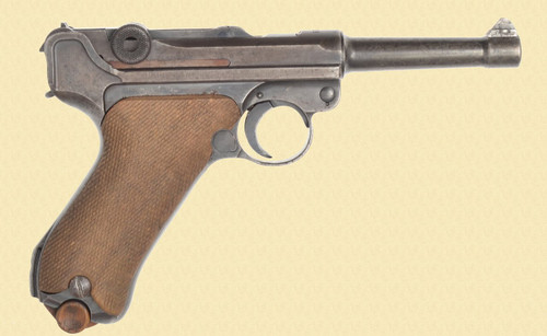 MAUSER LUGER 1939 BANNER - C40433