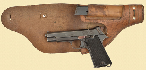 FRENCH M1935 S-Pistol w/HOLSTER - C49437