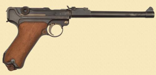 DWM 1918 ARTILLERY LUGER - D32305