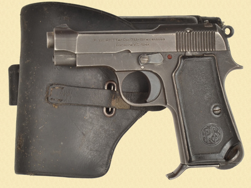 BERETTA MODEL 1935 AND RIG - C49751