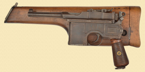 MAUSER BOLO W/STOCK CHINESE - C49771
