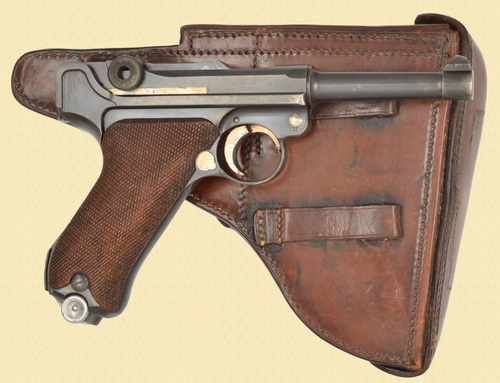 MAUSER 1939 DUTCH BANNER LUGER RIG - C32117
