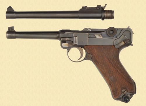 DWM FINNISH 1918 ARTILLERY LUGER - Z47923