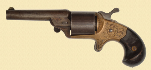 NATIONAL ARMS CO. FRONT LOADING REVOLVER - C49803
