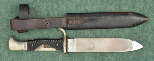 GERMAN HJ KNIFE WITH SCABBARD - C38112