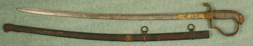 GROSSE DEGEN IMPERIAL ARTILLERY OFFICERS SABRE - M1914