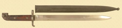 SWEDISH MAUSER M 1894 /14 CARCINE BAYONET - C49840