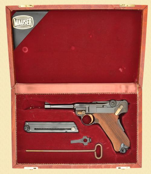 MAUSER CASED LUGER RENATO GAMBA - Z50824