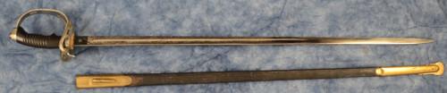 GERMAN MODEL 1889 PRUSSIAN CAVALRY DRESS SWORD - M8693