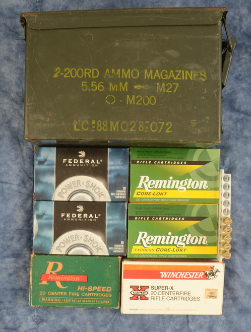 VARIOUS AMMUNITION IN CAN - M8648
