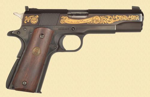 Colt GOLD ETCHED ACE SAM COLT SIGNATURE SERIES - Z50802