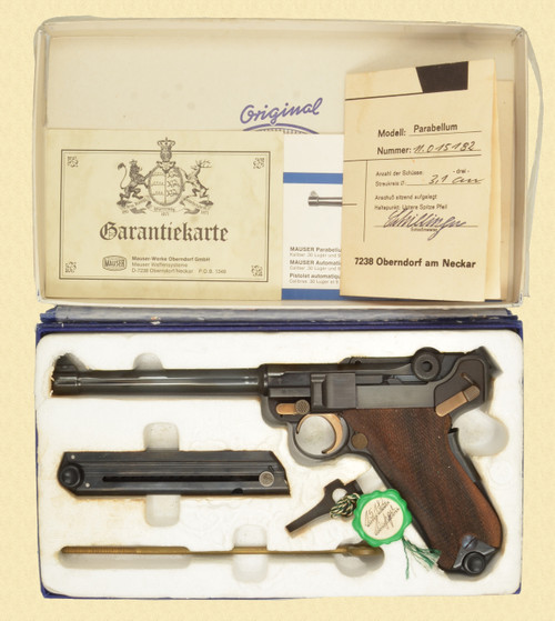 MAUSER P.08 LUGER IN BOX - Z51143