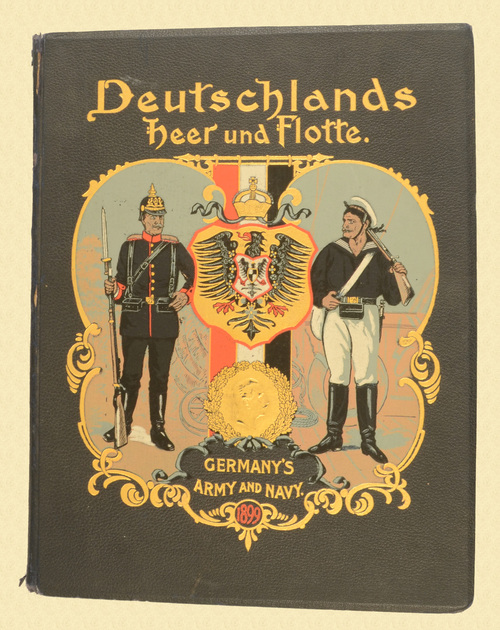 BOOK GERMAN ARMY & NAVY UNIFORMS - C49890