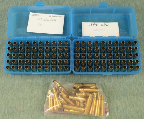 AMMO LOT OF 126 348 WIN CASES - C49480