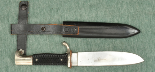 GERMAN HJ KNIFE WITH SCABBARD - M8669
