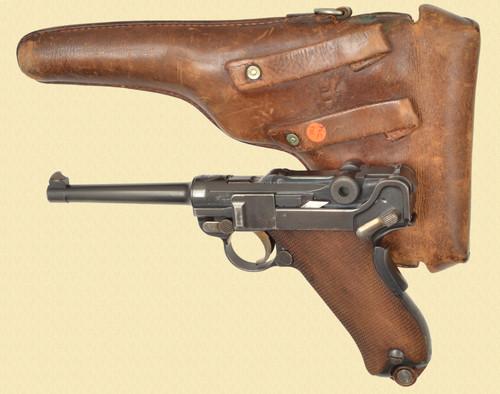 DWM 1906 SWISS CROSS IN SHIELD W/HOLSTER - Z51111
