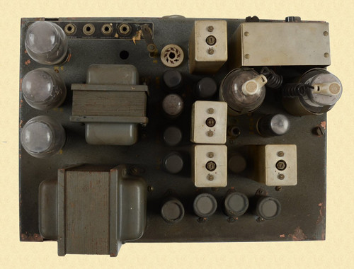 GENERAL ELECTRIC RADIO TRANSMITTER MODEL 4GF9A1 - C18871