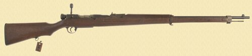 JAPANESE TYPE 38 TRAINING RIFLE - C26629