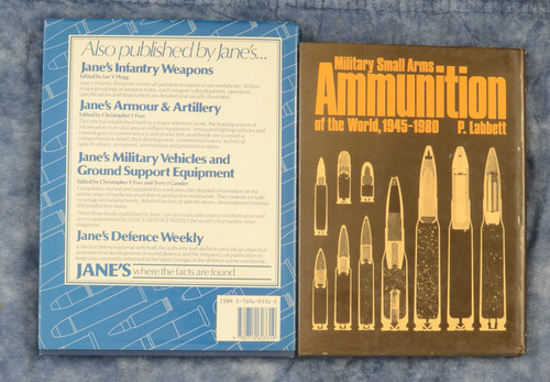 SET OF 2 MILITARY SMALL ARMS AMMUNITION BOOKS - C39183