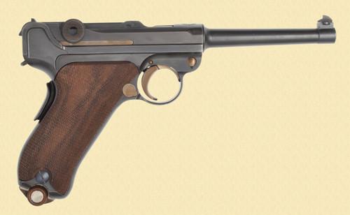 DWM LUGER 1906 SWISS COMMERCIAL - C40391