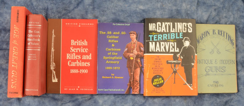 SET OF 6 ANTIQUE GUN BOOKS - C39196