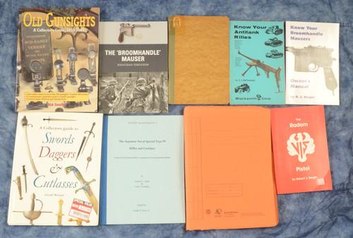 SET OF 9 MISC BOOKS - C39589