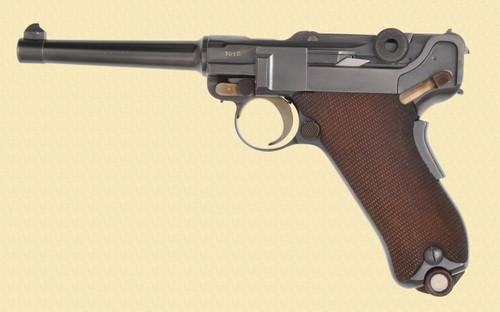 DWM LUGER 1906 SWISS COMMERCIAL - C40461
