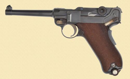 DWM LUGER 1906 SWISS COMMERCIAL - C40384