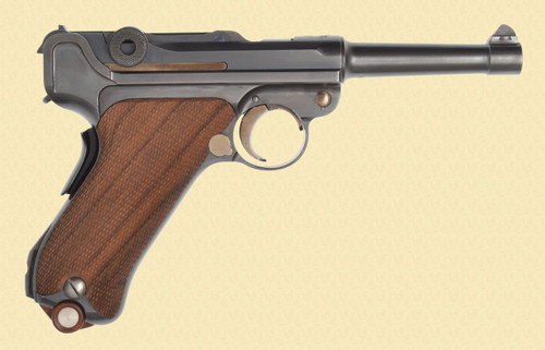 DWM SWISS 1906 STYLE LUGER - C40421