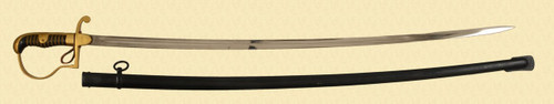 GERMAN FIRE OFFICER'S SWORD - C39989