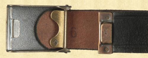 GERMAN BELT AND BUCKLE - C9663