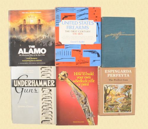 BOOKS LOT OF 6 - C37682