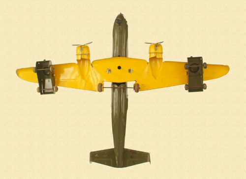 METAL VINTAGE TOY AIRPLANE - M4239