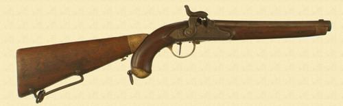 GERMAN KOKLBENPISTOLE MODEL 1843 - M4316