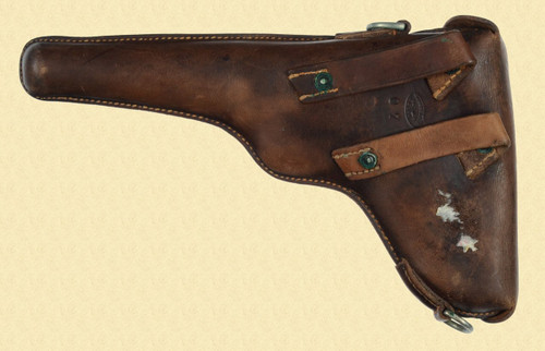 SWISS MILITARY M1900 LUGER HOLSTER - M6116