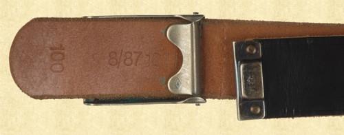 GERMAN BELT AND BUCKLE - C9662