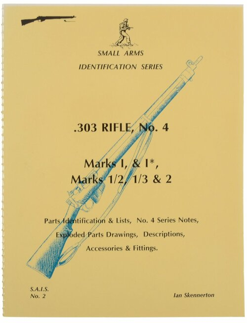.303 RIFLE, No. 4  Marks I, & I*, Marks 1/2